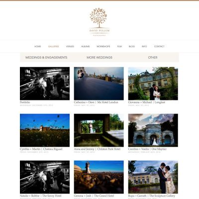 David Pullum - Galleries - PSD to WordPress