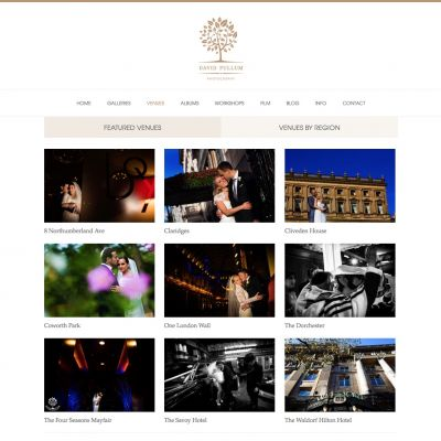 David Pullum - Venues - PSD to WordPress