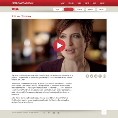 Jamestown Associates - Project - PSD to WordPress