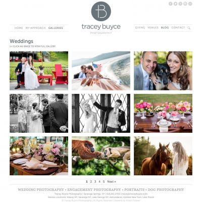 Tracey Buyce - Category - Custom WordPress Design