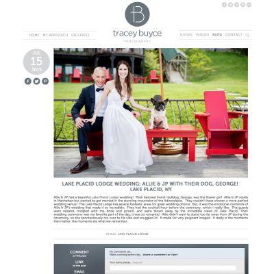 Tracey Buyce - Post - Custom WordPress Design