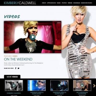 Videos - Kimberly Caldwell - Custom WordPress Design