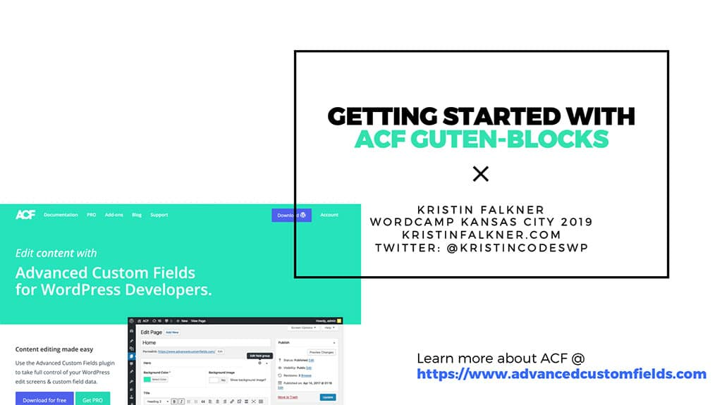 Download PDF for GETTING STARTED WITH ACF GUTEN-BLOCKS