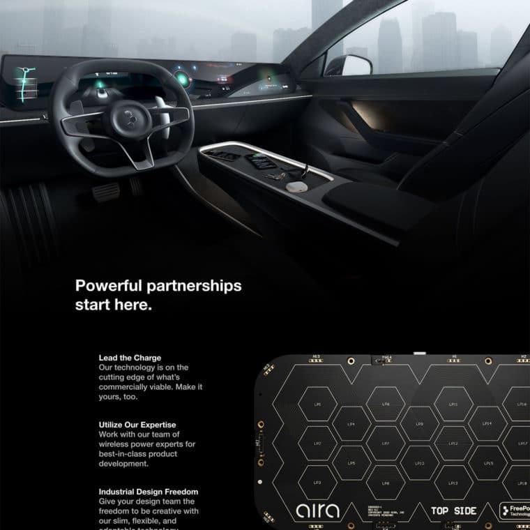 Aira Technology page screenshot